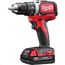 milwaukee hammer drill m18. milwaukee 2799-22cx m18 18v compact hammer drill / impact driver 2-tool cordless