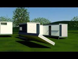 Foldable Houses Arkistructs Arkivilla Folding 3 Bedroom House