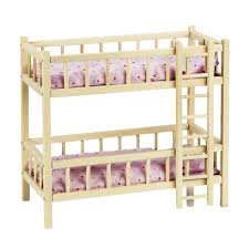 doll s bunk bed with ladder