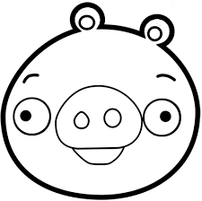 Small Picture Angry Birds Pigs Coloring Pages GetColoringPagescom