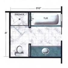 bathroom layout shower x