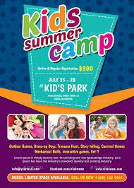 Kids Flyer Kids Summer Camp Flyer Themedevisers Graphicriver