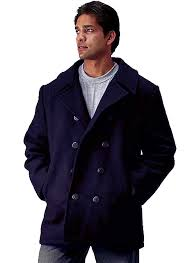 rothco mens naval quilted wool peacoat