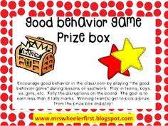 Pax Vision Chart 42 Best Pax Good Behavior Game Images Behavior Classroom