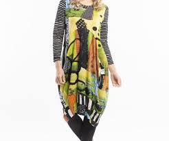 Orientique Stretch Bubble Dress The Special Size Co Plus