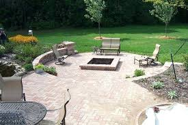 patio with square fire pit. Fire Pit Patio Ideas With Square Photos .