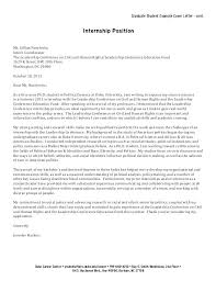 Internship Cover Letter Cover Letter Internship Templates Cover ...