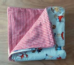 two fabric baby quilt tutorial super cute and simple to sew in one day