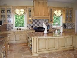 antique glazing kitchen cabinets