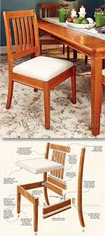 simple wooden chair plans. Dining Chair Plans - Furniture And Projects | WoodArchivist.com Simple Wooden C