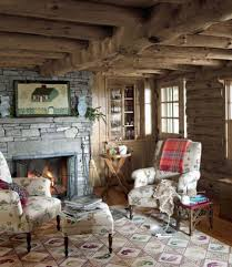 Log Cabin Living Room Concept Impressive Inspiration Design