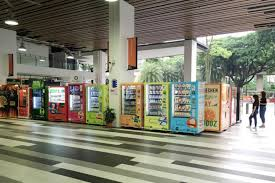 Biggest Vending Machine Gorgeous Singapore Polytechnic Business School Claims To Have Biggest Cluster