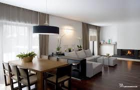 salon z jadalnią zdjęcie od bartek włodarczyk architekt jadalnia styl nowoczesny bartek włodarczyk architekt
