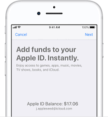 you can add funds to your apple id using the payment method that you have on file or app itunes gift cards