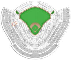 Los Angeles Dodgers Dodger Stadium Seating Chart