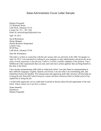 Cool Sample Cover Letter For Sales And Marketing Job Letters