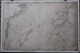 Amazon Com Theprintscollector Antique Print Sea Chart