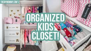 Kids closet organizer Wardrobe Kids Closet Organization Ideas The Diy Mommy Youtube Kids Closet Organization Ideas The Diy Mommy Youtube