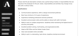 Marketing Coordinator Job Description Best What's The Hottest New Job In Architecture Features Archinect