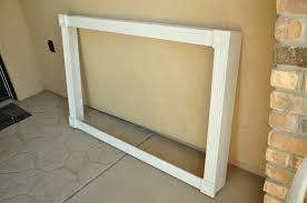 Wall Mounted Tv Frame Cover Up Ugly Lcd Tv Brackets