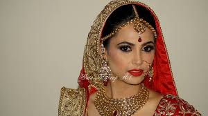north indian bridal makeup by guru makeup artist