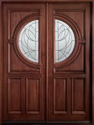 wood furniture door. Mahogany Solid Wood Front Entry Door - Double Furniture N