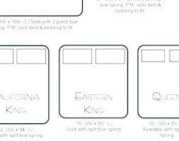 Mattress Size King Vs Queen Between And Uk Measurements Of A