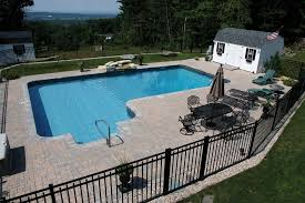 Inground Pool Rectangle 2ft Radius Pool Hot Tub Village