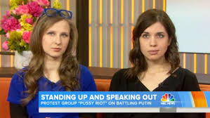 Pussy Riot Members Attack News Channel Russia Today During U.K.