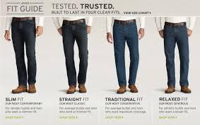 Kohls Mens Size Chart Mens Jeans Guide In 2019 Men Mens Style Guide T Shirt