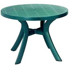 plastic umbrella tablecloths resin patio table with hole round harbor all weather