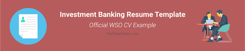 Investment Banking Resume Template Wall Street Oasis Simple Resume Margin Size