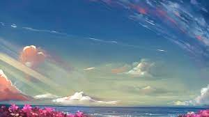 Sky Anime Landscape HD Wallpapers ...