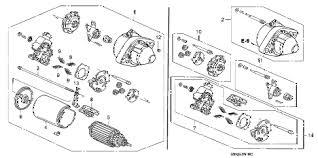 honda online store 2005 crv starter motor (mitsuba) parts 1998 Honda CR-V Engine Diagram 2005 cr& 45;v lx(4wd) 5 door 5at starter motor (