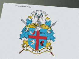 Design A Family Crest Coat Of Arms Family Crest I Designed For A Trott Family