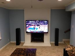 mounting tv above fireplace regarding tv over blu ray forum prepare 13