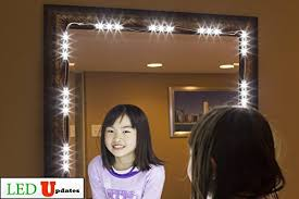 lighting for makeup mirror. make up mirror led light for vanity miror great or makeup including ul power supply eco series lighting