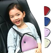 triangle baby kid car safe fit seat belt adjuster device auto safety shoulder harness strap cover 13 covers