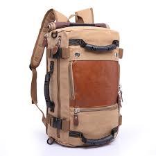 KAKA Brand Stylish Travel <b>Large Capacity Backpack Male</b> Luggage ...