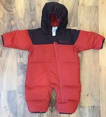 Columbia Infant Snowsuit Size Chart Columbia Girls 6 12 Months Down Filled Bunting Suit Snuggly