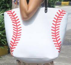 2016 whole blanks softball baseball tote bags sports bags casual tote softball bag football soccer basketball bag cotton canvas material