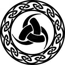 Vektor Trojitá Roh Odin Keltský Nekonečný Uzel 22001741