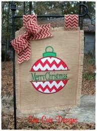 christmas garden flags. Personalized Burlap Flag...Love This For Next Year...will Be Christmas Garden Flags ,
