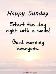 Sunday Quotes Adorable Happy Sunday Start Your Day With A Smile Fun Stuff Pinterest