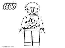 Superhero Printable Coloring Pages Coloring Pages Flash Bikeandtravel Co