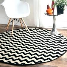 black and white round rug 3 round rug chevron vibe zebra black white 5 set black black and white round rug