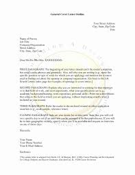 General Cover Letter For Resume Best Of General Cover Letter For