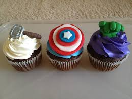 The Avengers Cupcakes Cakecentralcom