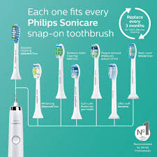 Sonicare Toothbrush Comparison Chart Philips Sonicare 3 Series Gum Health Sonic Electric Rechargeable Toothbrush Hx6610 01