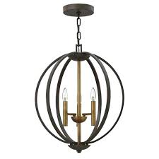 light in spanish bronze three light foyer pendant light up spanish translation